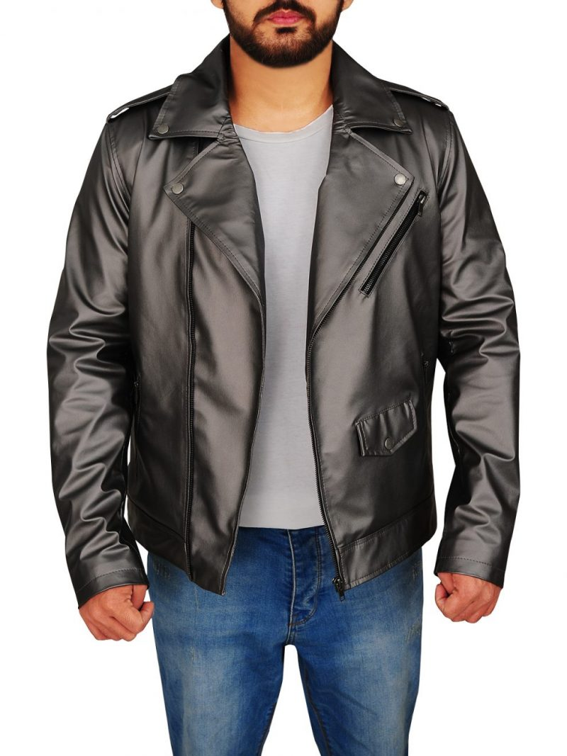 Evan Peters X Men Apocalypse Quicksilver Leather Jacket,