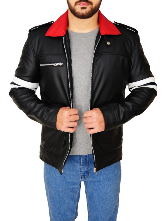 Game Alex Mercer Prototype Black Jacket,