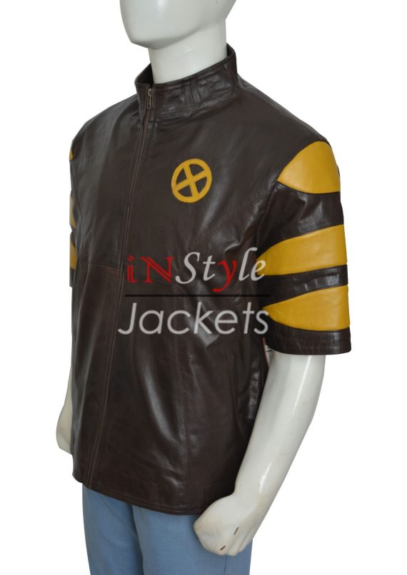 X Men The Last Stand Hank Leather Jacket