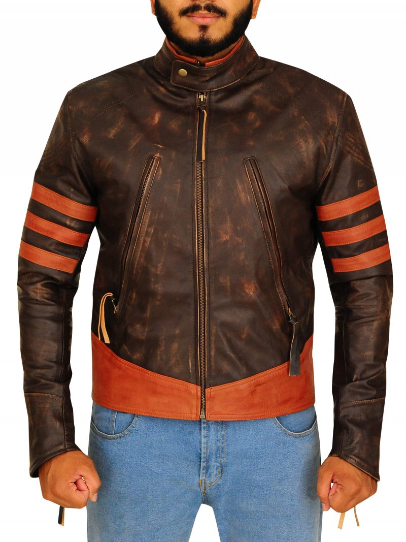 X Men The Last Stand Wolverine Leather Jacket