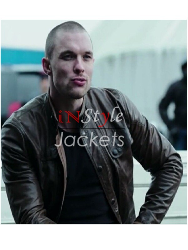 Ed Skrein Deadpool Movie Jacket