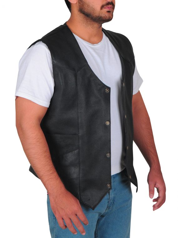 Fast 8 Leather Vest
