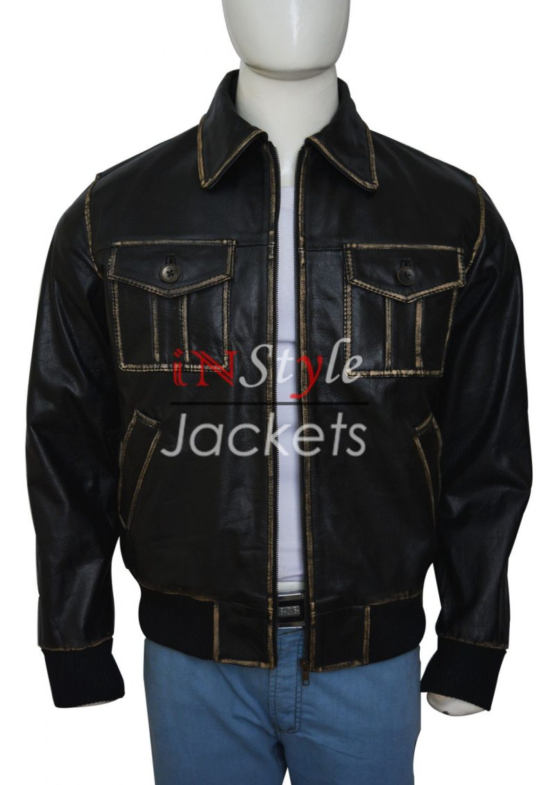 Once Upon a Time Sheriff Graham Leather Jacket