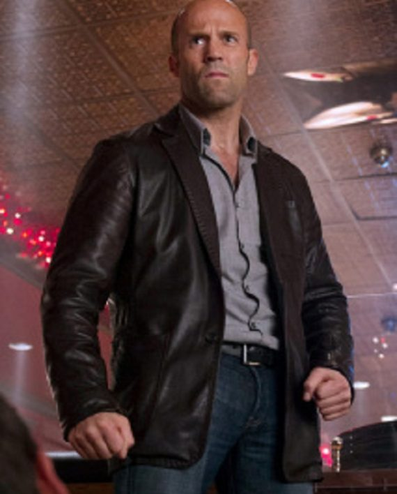 Jason Statham Wild Card Blazer Jacket