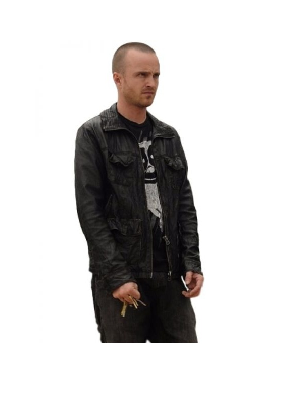 Aaron-Paul-Breaking-Bad-leather-Jacket