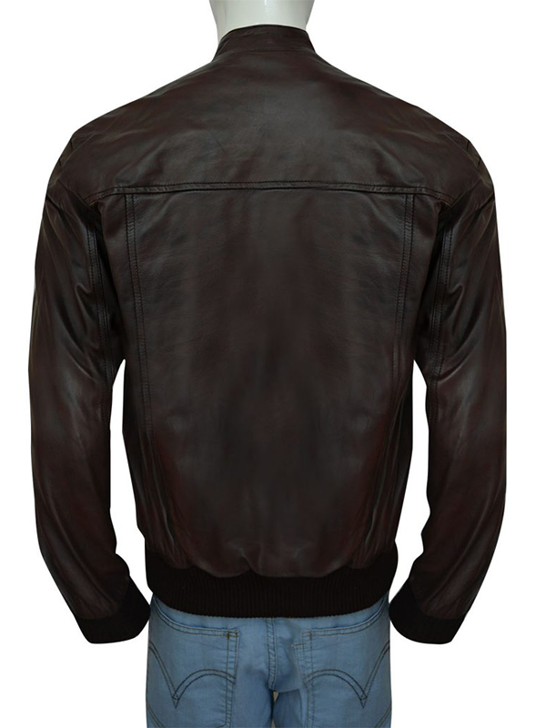 Charming Brown Bomber Jacket