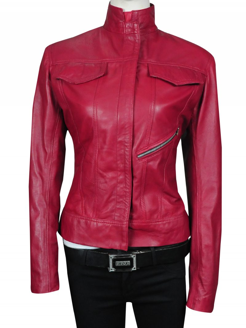 Emma Swan Once Upon a Time Maroon Jacket