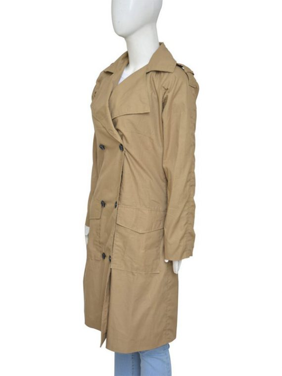 Jennifer Lopez Beige Coat