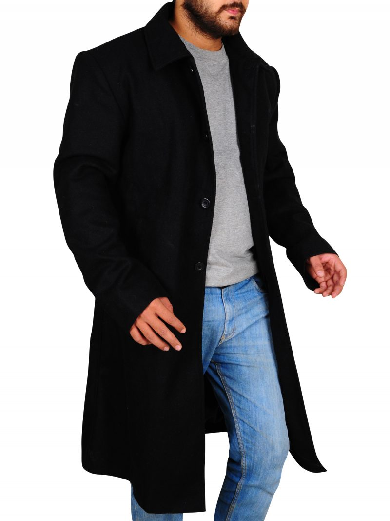 Justified Series Raylan Givens Trench Coat