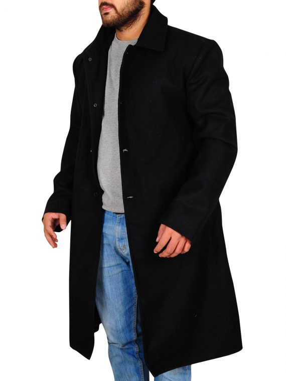 Justified TV Raylan Givens Trench Coat