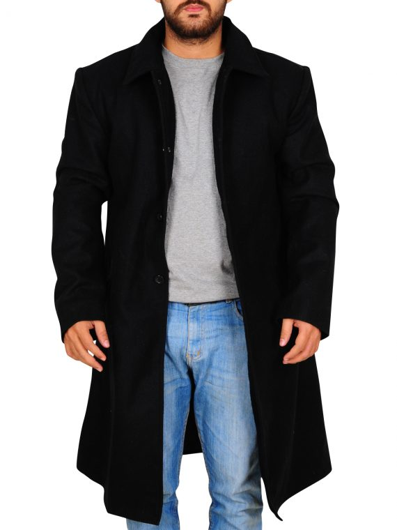Justified TV Series Raylan Givens Trench Coat