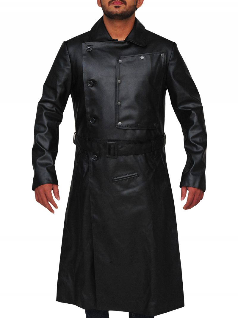 Willem Dafoe The Grand Budapest Hotel Leather Coat