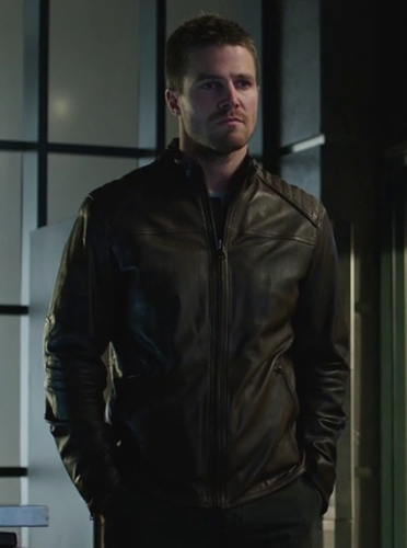 ARROW TELEVISION SERIES OLIVER QUEEN JACKET