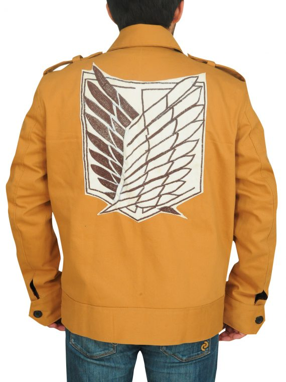 Attack On Titan Eren Yeager Cotton Jacket