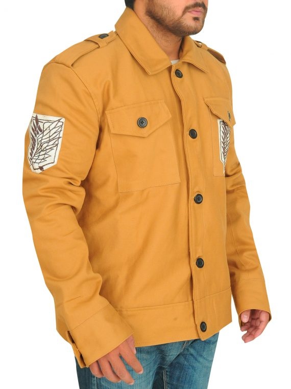 Attack On Titan Eren Yeager Jacket