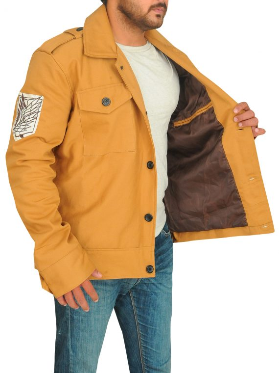 Attack On Titan Series Eren Yeager Cotton Jacket