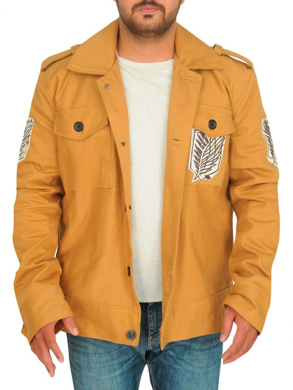 Attack On Titan TV Series Eren Yeager Cotton Jacket