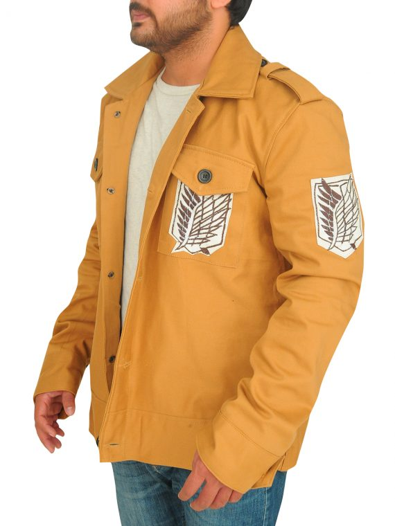 Attack On Titan TV Series Eren Yeager Jacket