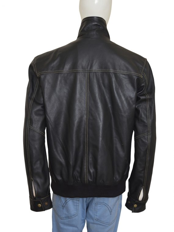 Bruce Willis A Good Day to Die Hard Brown Leather Jacket