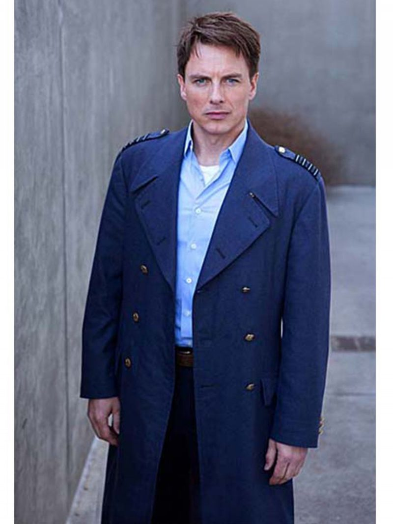 Captain Jack Harkness Doctor Who Wool Coat