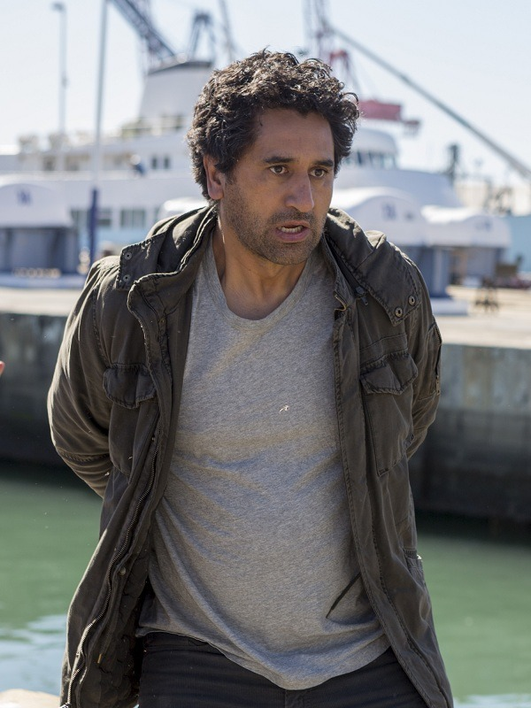 Cliff Curtis Fear the Walking Dead Travis Manawa Hooded Jacket