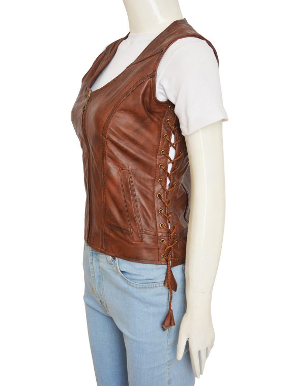 Danai Gurira Michonne Leather Vest