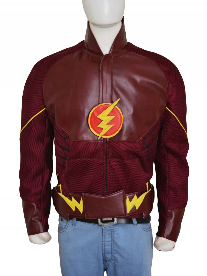 Grant Gustin The Flash TV Series Jacket