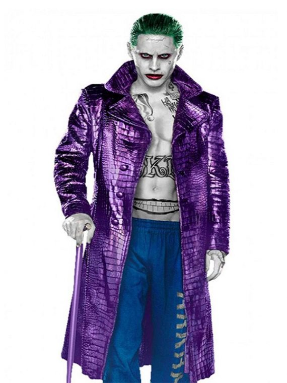 Jared Leto Joker Crocodile Coat