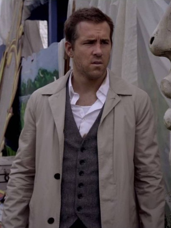 Movie Selfless Young Damian Ryan Reynolds Cotton Coat