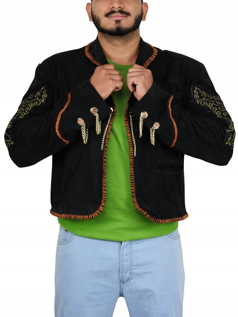 Once Upon A Time In Mexico Movie Antonio Banderas Stylish Jacket