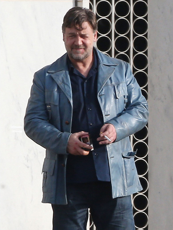 Russell Crowe The Nice Guys Leather Jacket