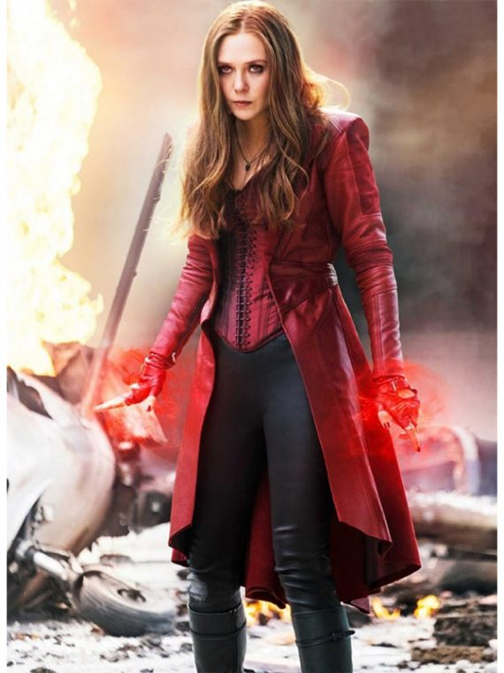 Scarlet Witch Maximoff Coat