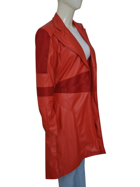 Scarlet Witch Leather Coat