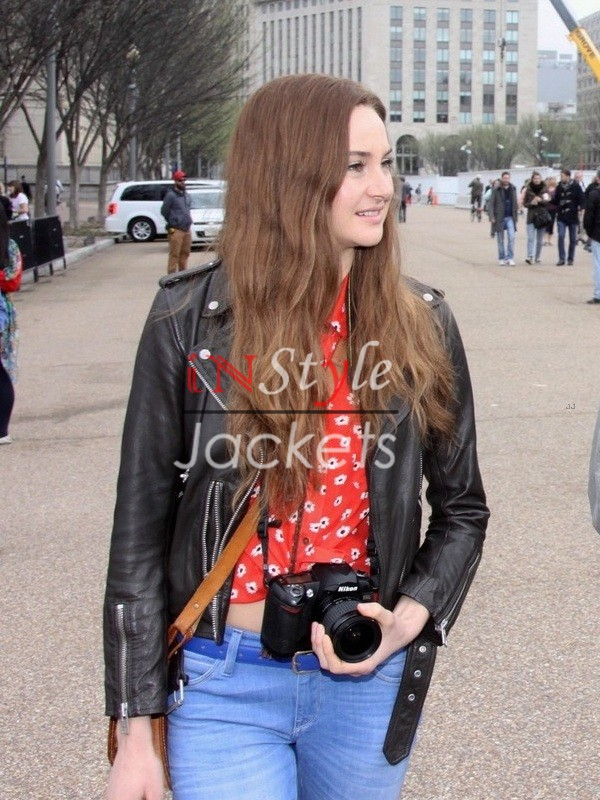 Shailene Woodley Snowden 2016 Movie Jacket