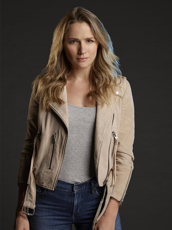 Shooter Series Julie Swagger Leather Jacket