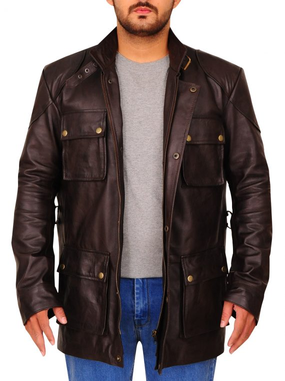 The Curious Case of Benjamin Button Leather Jacket