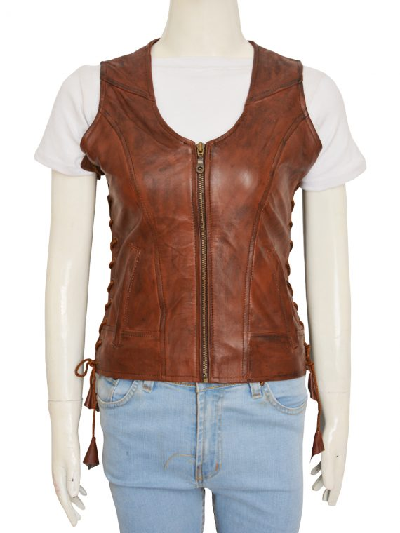 Walking Dead Danai Gurira Michonne Leather Vest