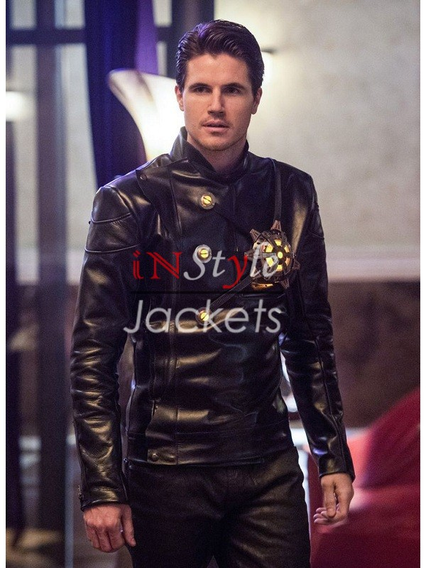 Welcome to Earth 2 Deathstorm Black Jacket