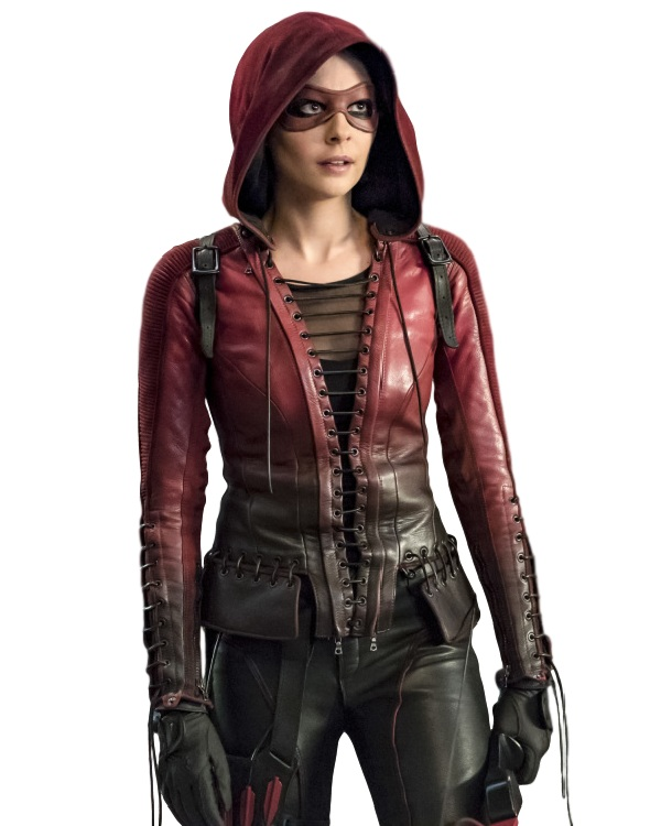 Willa Holland Arrow Thea Queen Costume Hooded