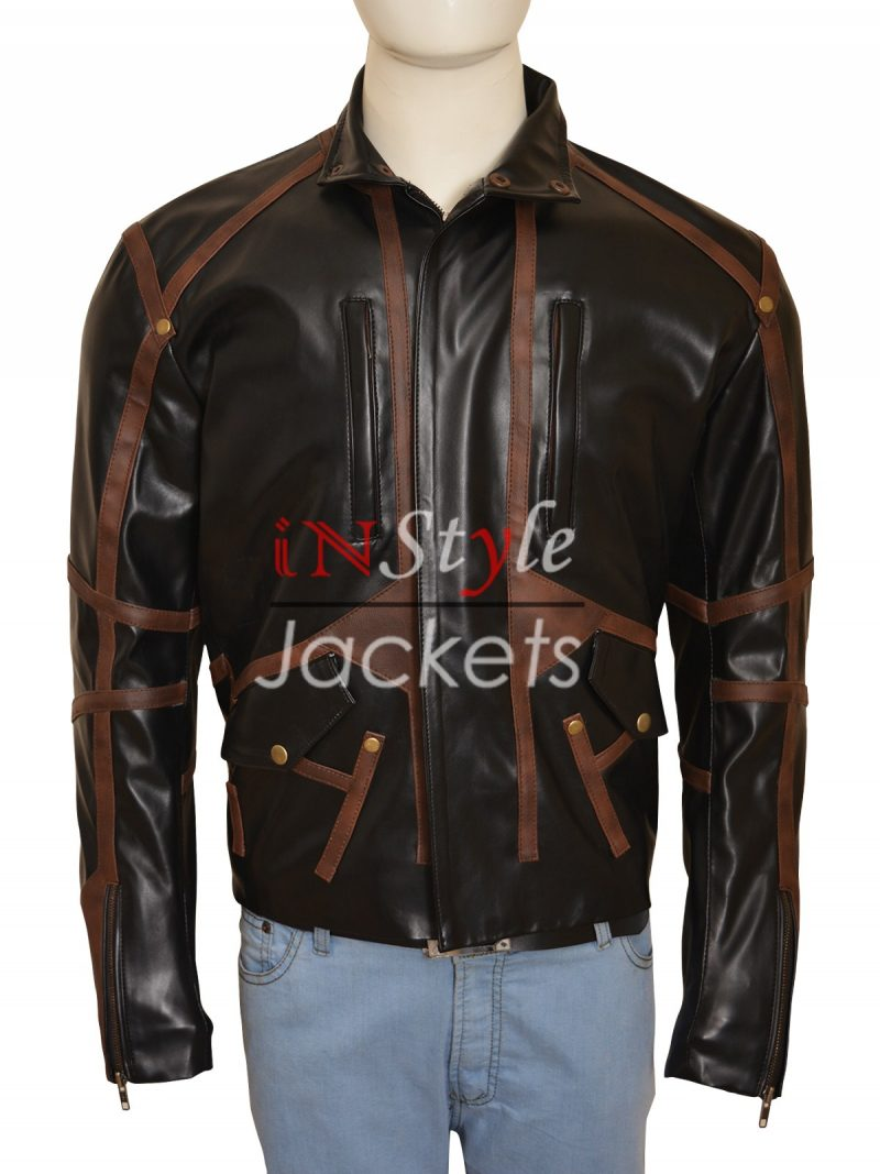Winter Soldier Bucky Barnes Leather Jacket