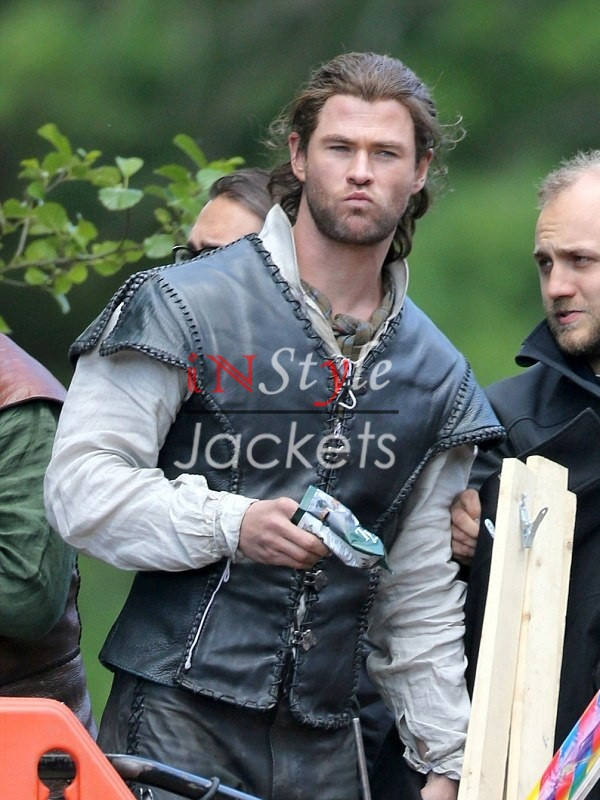 Chris Hemsworth The Huntsman Winters War Vest