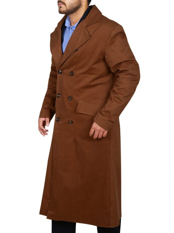 Doctor Who David Tennant Brown Coat,
