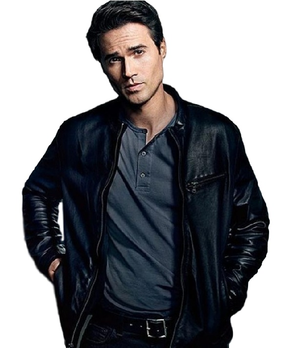 BRETT DALTON AGENTS OF SHIELD LEATHER JACKET