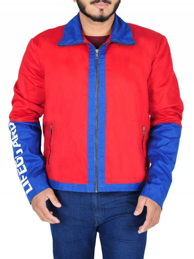 Dwayne Johnson Baywatch Movie Biker Jacket