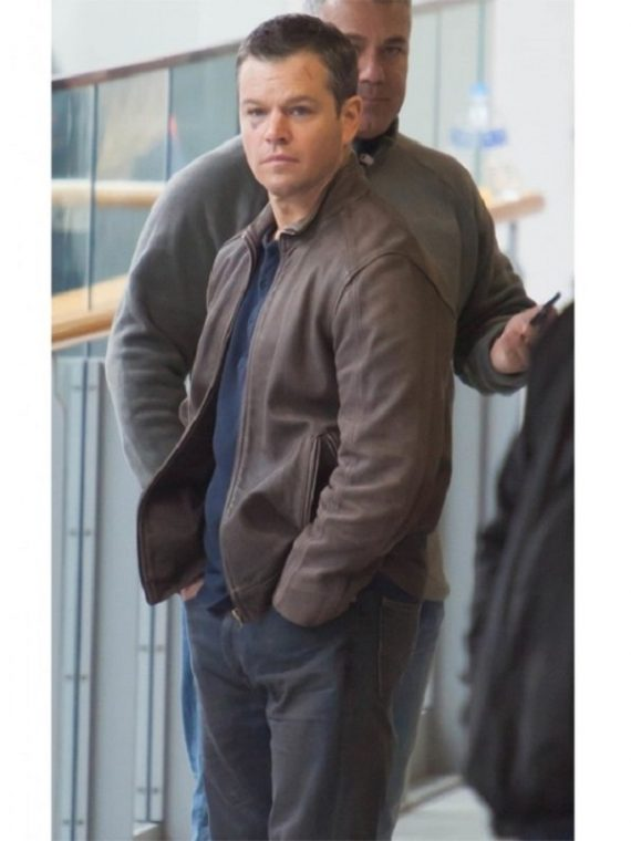 Jason Bourne Leather Jacket