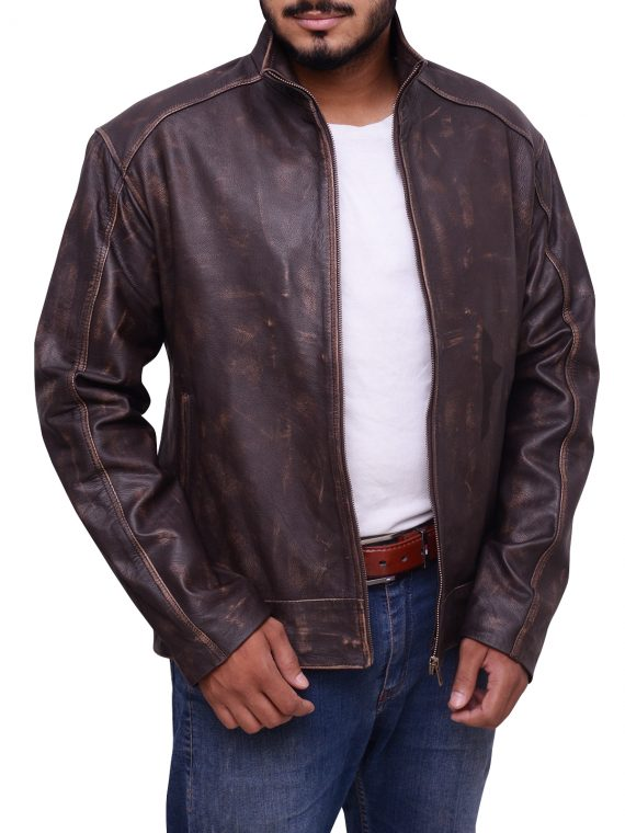 Jason Matt Damon Leather Jacket