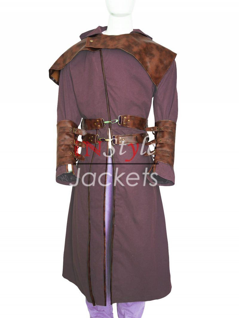 Shannara Chronicles Allanon Leather Coat