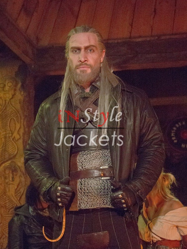 The Witcher 3 Wild Hunt Video Game Leather Jacket