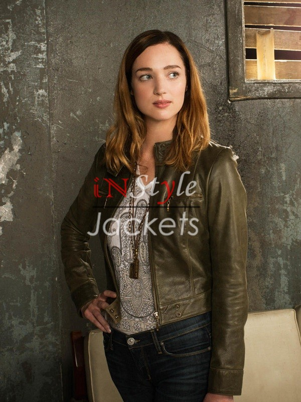 Zoo TV Series Jamie Campbell Leather Jacket
