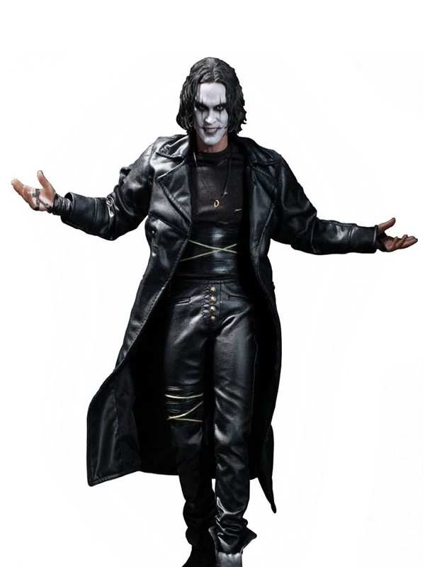 Brandon Lee The Crow Movie Leather Coat